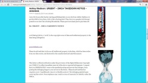 avid life media DMCA takedown notice to Pornwikileaks